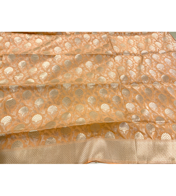 Banaras silk zari jalall over with blouse