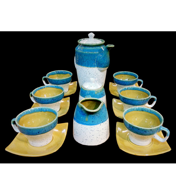TEA SET POTTERY