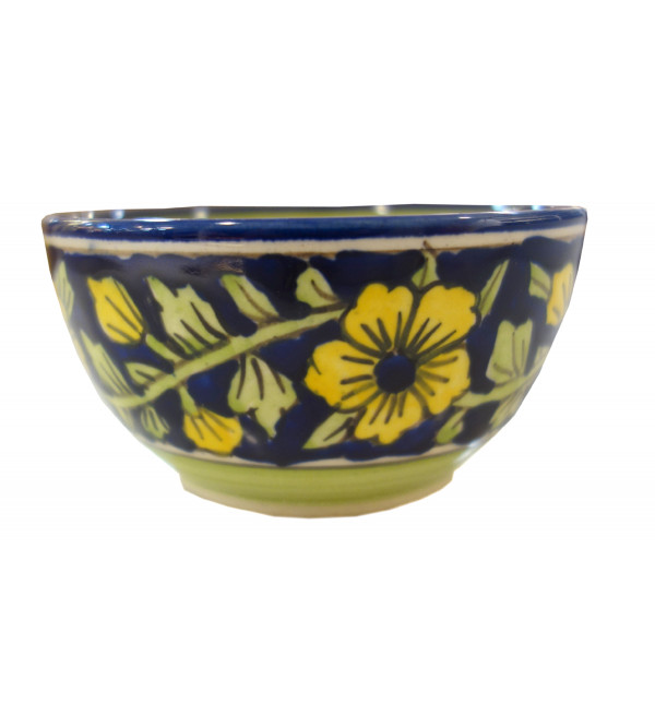 HANDICRAFT KHURJA POTTERY SWEET BOWL