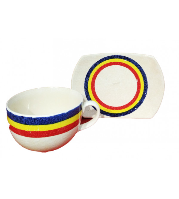 CUP SET POTTERY