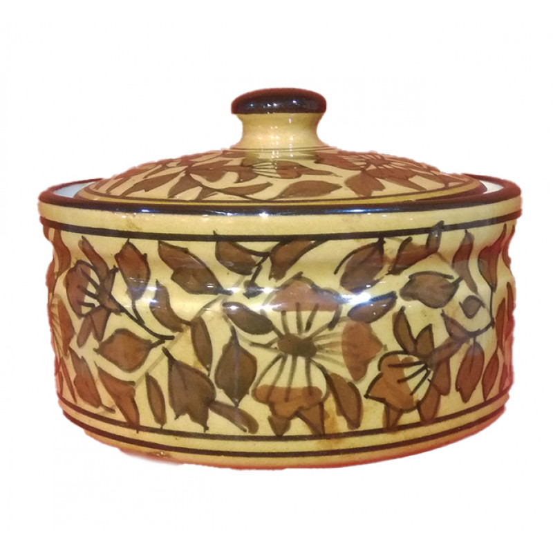 Handcrafted Khurja Pottery Donga Size 6.5 Inch
