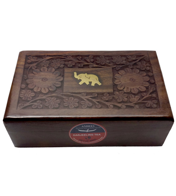 DARJEELING TEA 200GM WOODEN BOX MISSION HILL