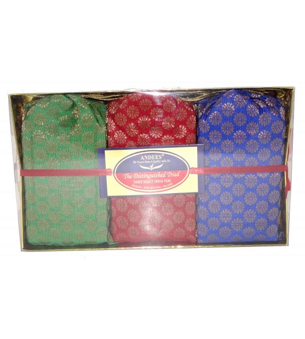 Gift Set Distinguished triad 300gm ASSAM DARJEELING NILGIRI TEA