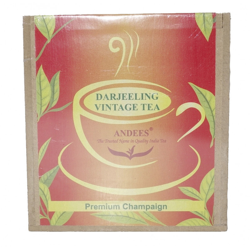 Darjeeling tea Vintage 100gm WOODEN BOX
