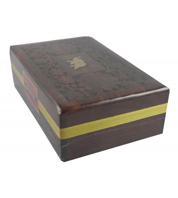SPICE DELIGHT TEA 120GM WOODEN BOX