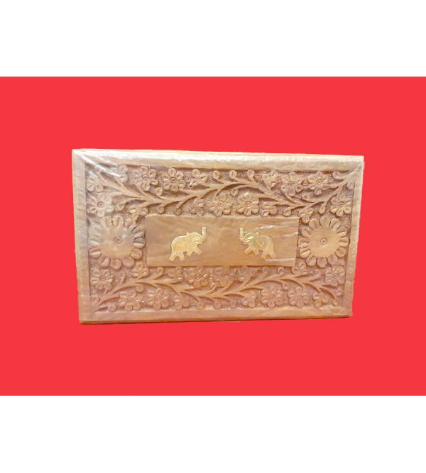 "Spice 0f India 250 gm Wooden box 10""x6"""