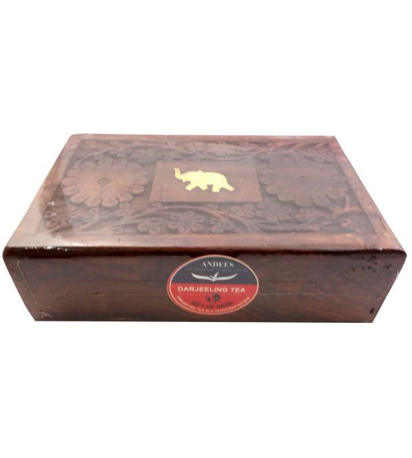 DARJEELING TEA 200GM WOODEN BOX MISSION HILL