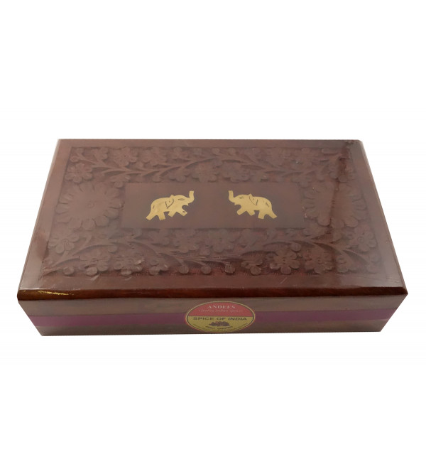 SPICE OF INDIA 250G WOODEN BOX