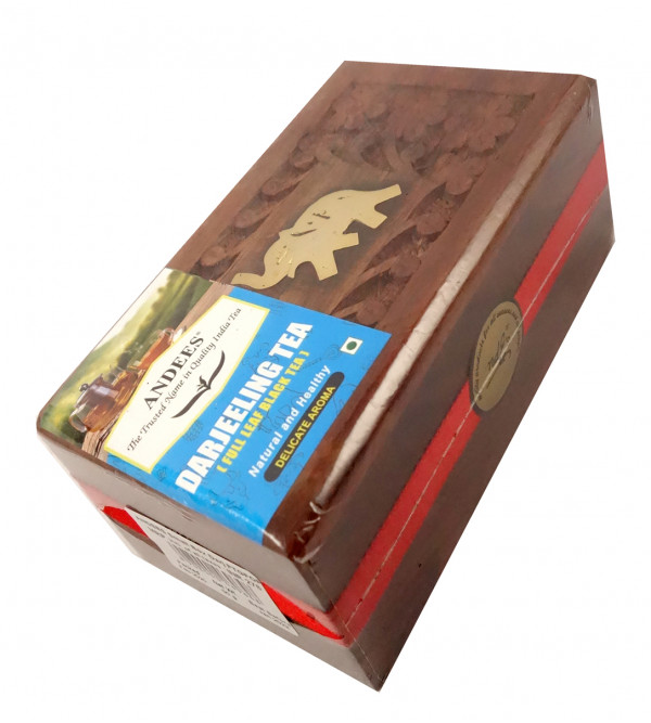 Darjeeling Tea 50 gm In Wooden Box