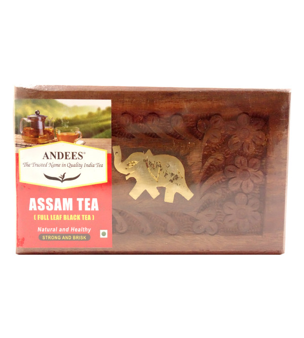 ASSAM TEA  ENGLISH BREAKFAST 50GM WITH BOX