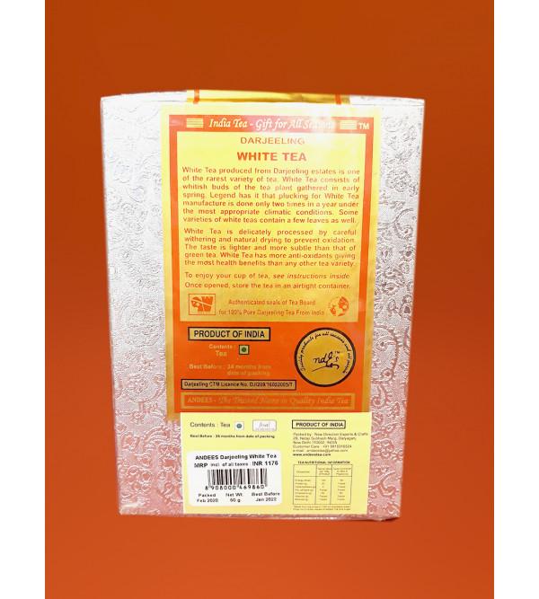 Darjeeling Tea White 50gm