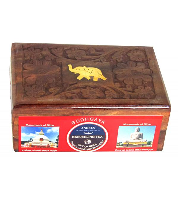 Bodhgaya Darjeeling Wooden Box 100 Gms