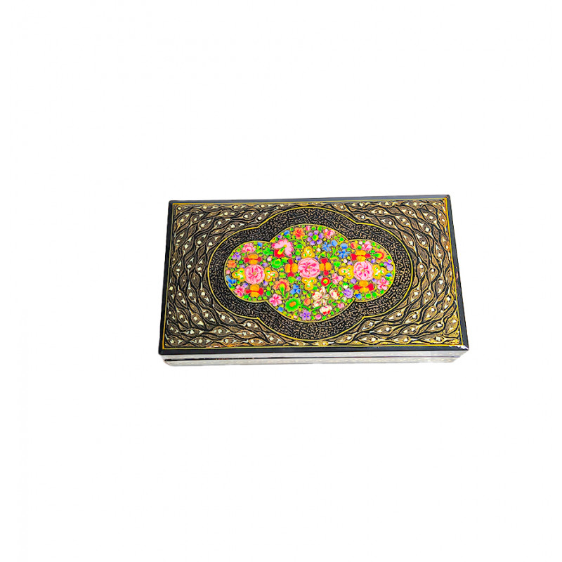 FLAT BOX 7X4 REAL GOLD