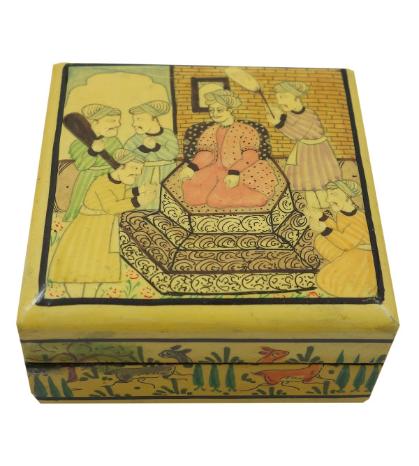 Papier Mache Handcrafted Box