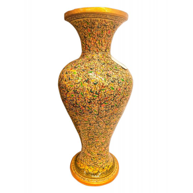 Papier Mache Handcrafted Flower Vase