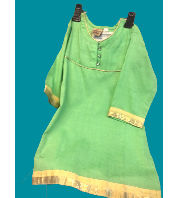 Cotton Woven Salwar Kameez Set Size 1 to 2 Year
