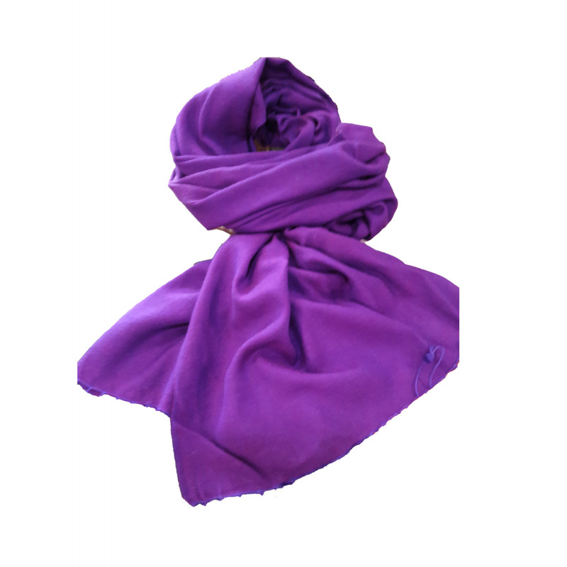 Pashmina Stole Hand Woven in Kashmir Size,28X80 inch