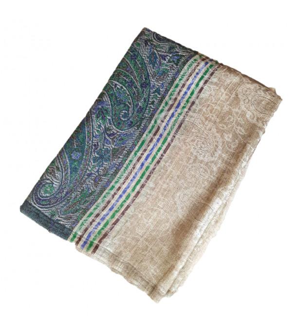 Pure Woolen Kani Palas Stole Size 28X80 Inch