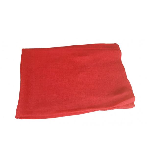Pure Woollen Stole Plain 28X80 Inch Assorted Colours