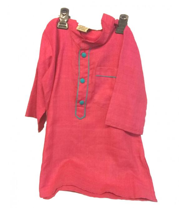 Silk Embroidery Kurta Pajamas Set Size 1 to 2 year