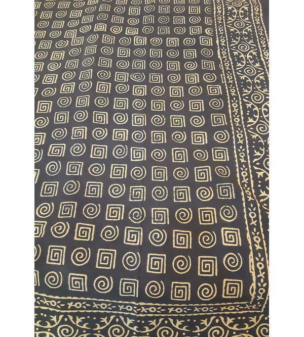 Bed Cover Cotton printed Hand Block 60x90 inch