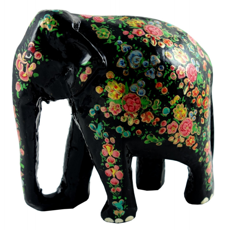 PAPER MACHE ELEPHANT 5 INCH ASSORTED COLOR