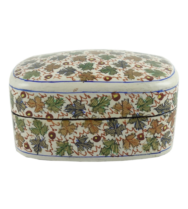 PAPER MACHE BOX JUMBO ASSORTED DESIGN