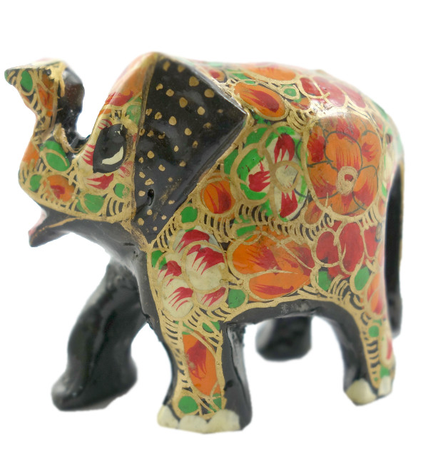 HANDICRAFT PAPER MACHIE ASSORTED ELEPHANT 2 INCH