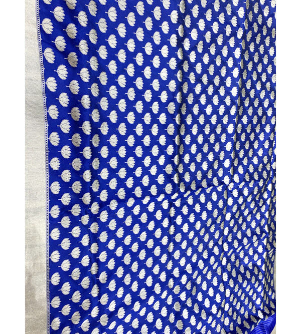 Banaras silk zari buti HANDLOOM SAREE with Blouse