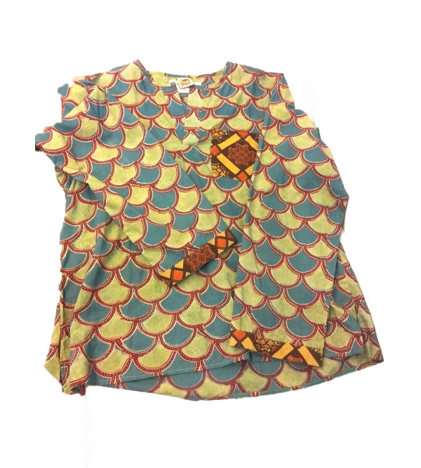 Cotton Printed Short Kurta For Boys Size 10 to 12 Year