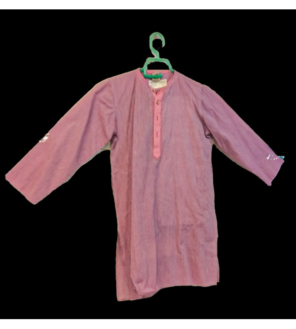 Cotton Woven mangalgiri Kurta pyajama Set Size 6 to 8 Year