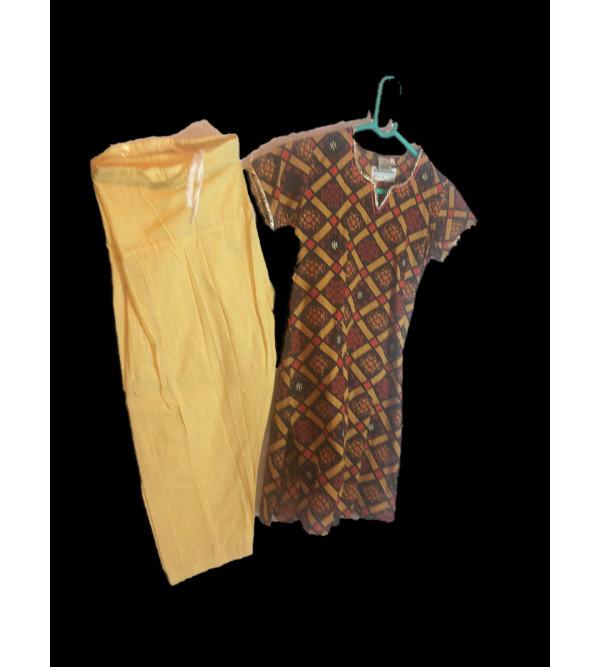 Cotton Salwar Kameez Set Size 6 to 8 Yr
