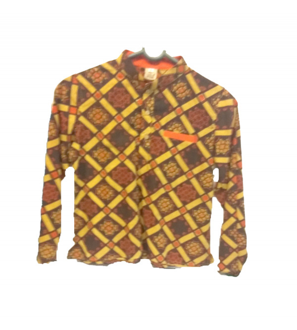 Cotton Printed Short Kurta For Boys   Size 6  to 8 Year
