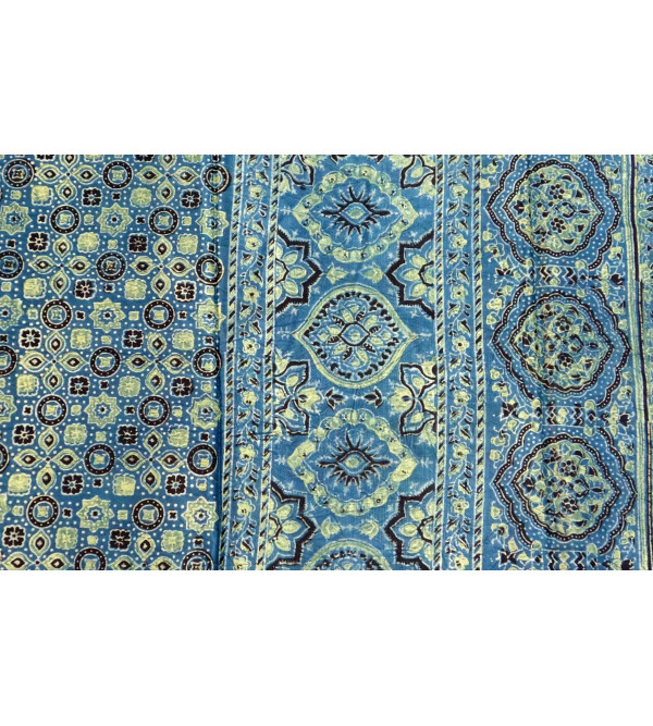 STOLE AJRAK MASHROO 22X72 INCH ASSORTED DESIGNS AND COLOR