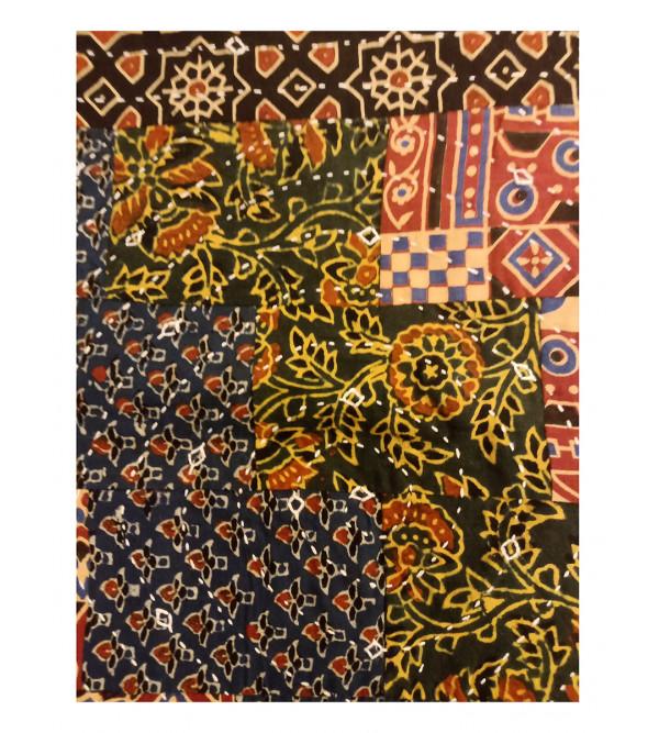 16X16 INCH CUSHION COVER COTTON  AZARAKH FAN DSGN.