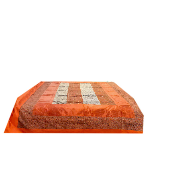Cotton Hand Embroidered Bed Cover Size 90x108 Inch