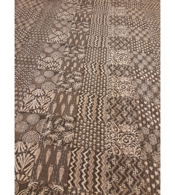 Cotton Block Printed Table Cover Size 60x90 Inch