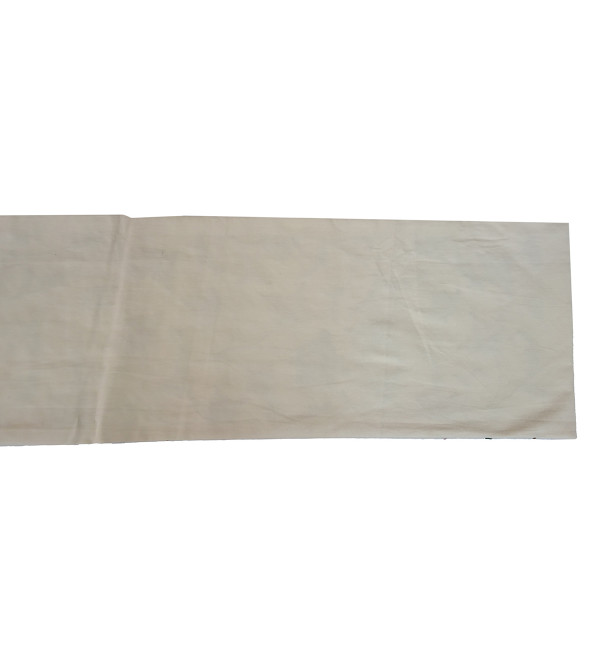 13X120 INCH WOOL HAND  EMB. RUNNER COTTON