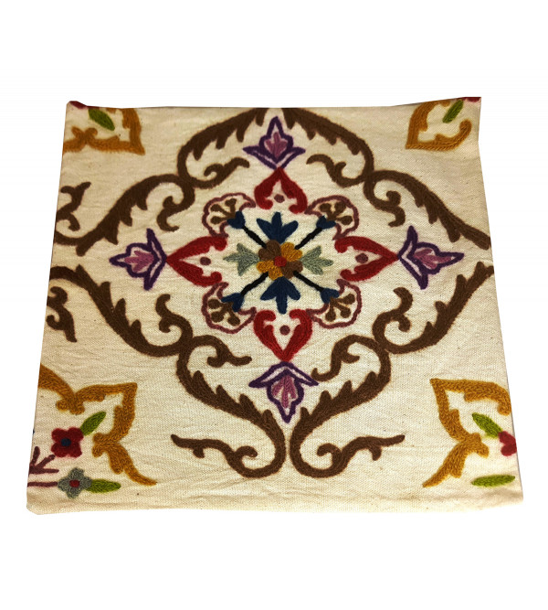 14X14 Inch  Wool EMB Cotton Cushion  Cover