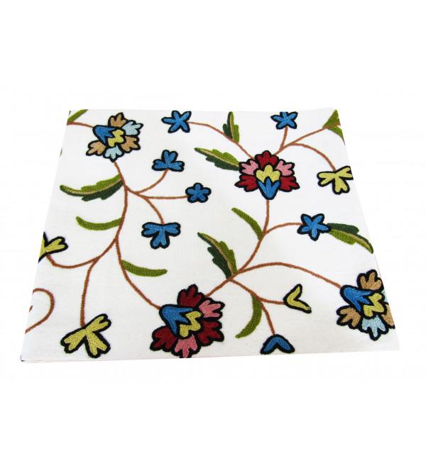 13 X60 Inch Runner Cotton  Hand Emb. Wool Kashmir