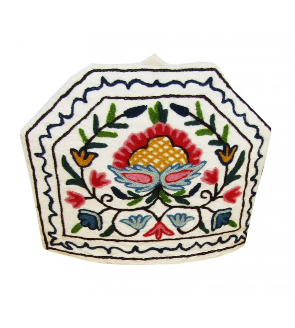 Teacosy Cotton Embroidered 14x11 Inch