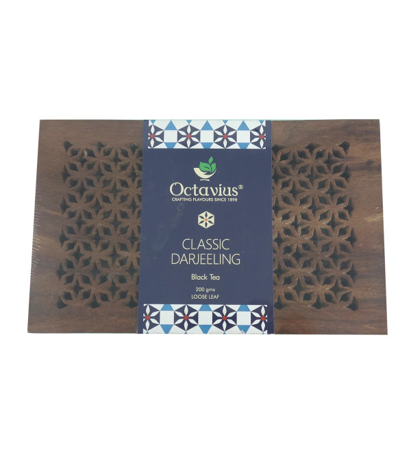 WOODEN BOX TEA 200 GM ASSORTED