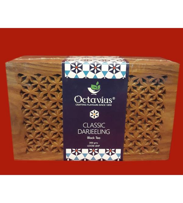 Darjeeling Tea In Wooden Box 200 gm