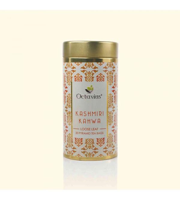 Kashmiri Kahwa Whole Leaf Tea 20 Pyramid Tea Bags