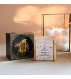 Olong  Tea In Wooden Box 50 Gms