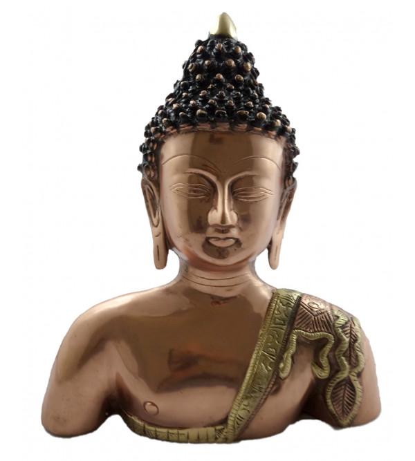 HANDICRAFT BUDDHA BODY 11 INCH BRASS COPPER FINISH