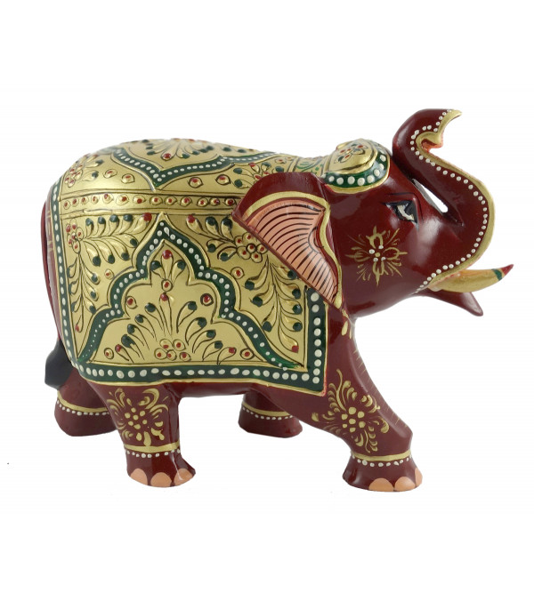 PAINTED ELEPHANT PATHA 5 INCH
