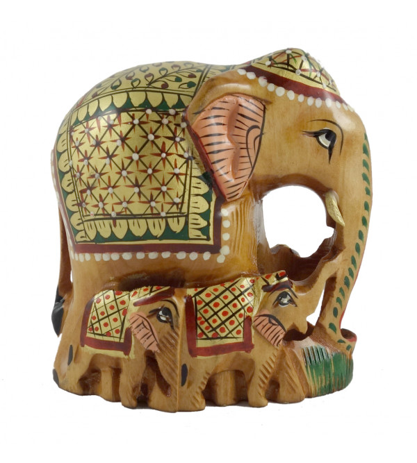 PAINTED ELEPHANT PATHA 3 INCH