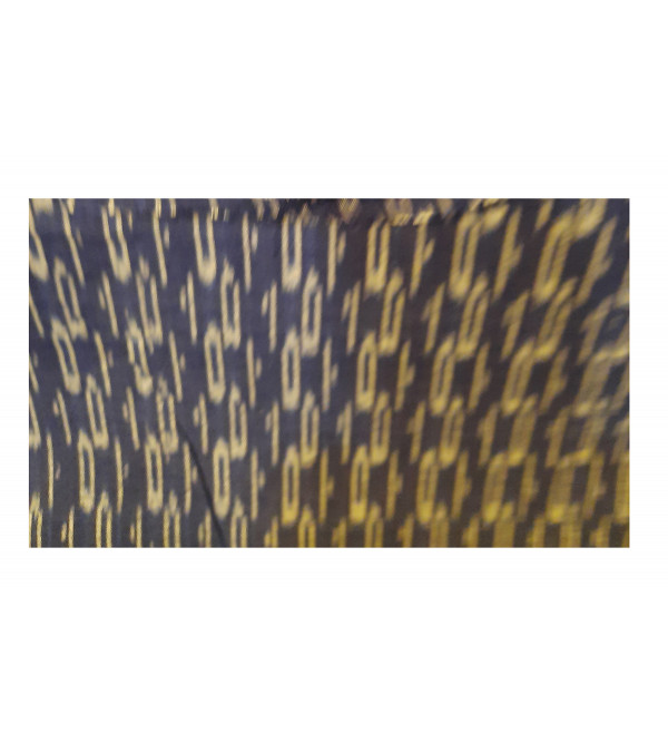 Cotton Handwoven Ikat Fabric Width 44 Inch