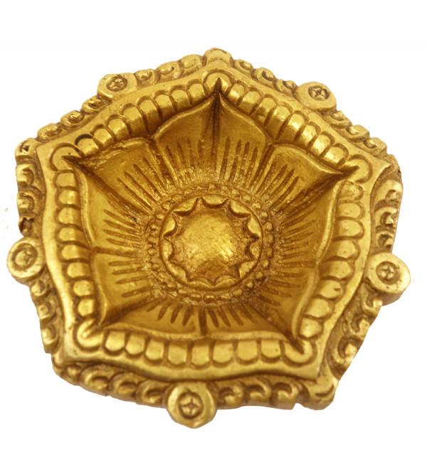 Handicraft Brass Flower Shape Deeva